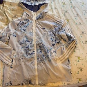 Adidas originals raincoat size small